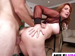 Horny Red-haired Cougar Freya Fantasia