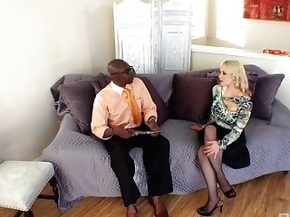 Whore Wifey Sarah Vandella Is Fucked By Big Black Cock Under...