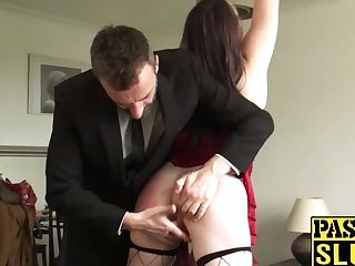 Butt Ravaged Mummy Super-bitch Gets Her Face Smacked And Fucked