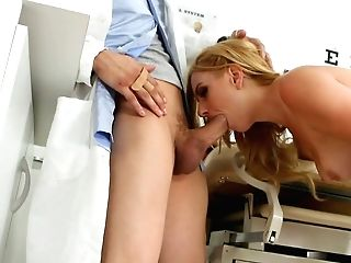 Rapacious Gynecologist Pounds Cock-squeezing Slit Of Eos In Rear...