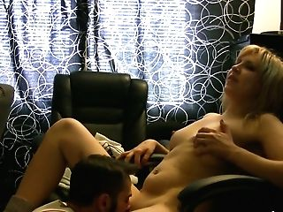 Curvy Blondie Mummy Gets Her Muf Dived Before She Give A Blowage In...