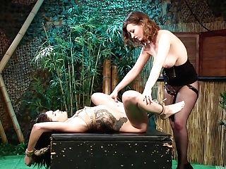Cherry Ripped & Eden Sin In Tiki Takedown: Nice Pain Freak...