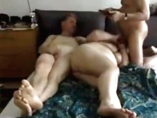 Bisex Matures Old Duo Flick
